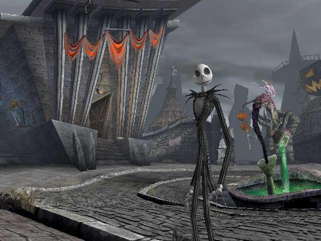 Halloween Town The Nightmare Before Christmas